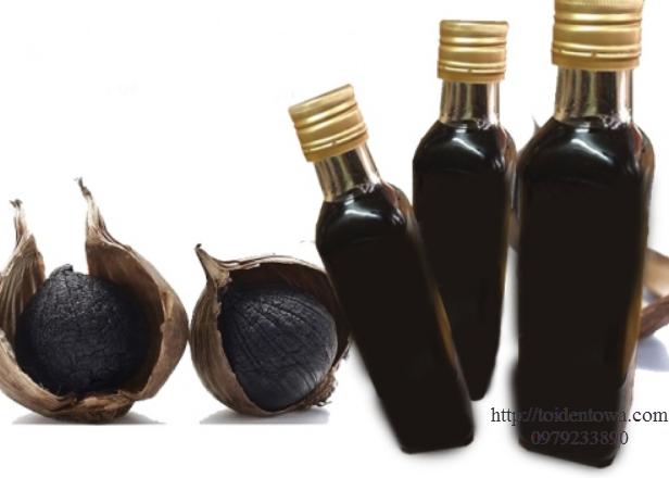 Cách Sủ dụng tỏi đen để ngâm rượu