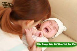Tác dụng Của Tỏi Đen Với Trẻ Em