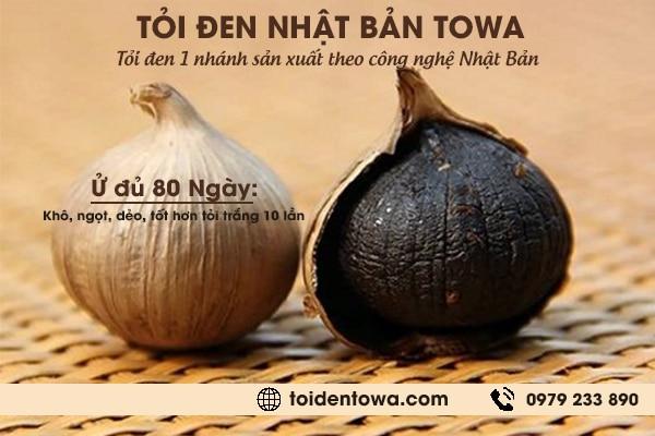Tỏi đen Nhật Bản Towa