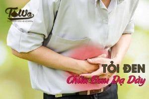 tỏi đen chữa đau dạ dày