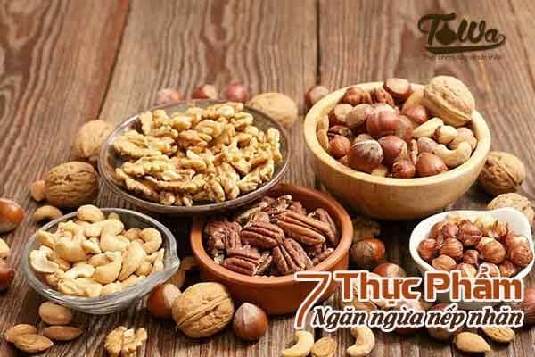 Thực phẩm ngăn ngừa nếp nhăn