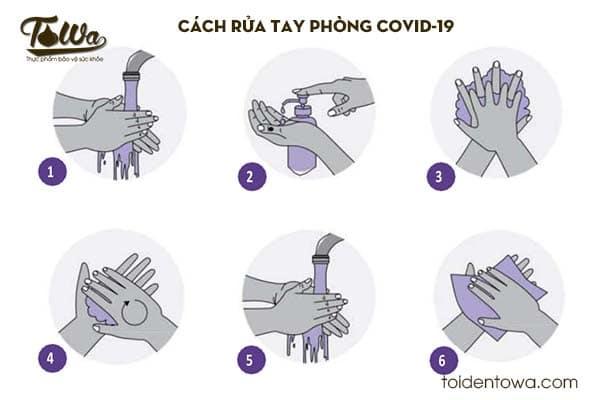 Cách rửa tay chống covid-19